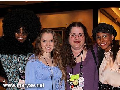 Maryse and some aspiring authors